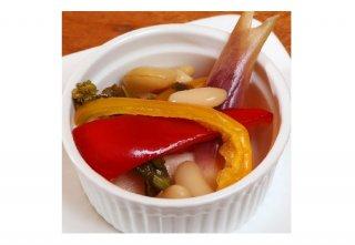「季節野菜のピクルス」ふつうのお酢なのにまるでお店の味