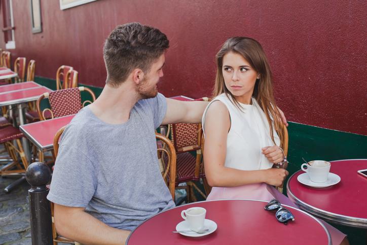 性的な目で見られることに恐怖(写真:iStock)