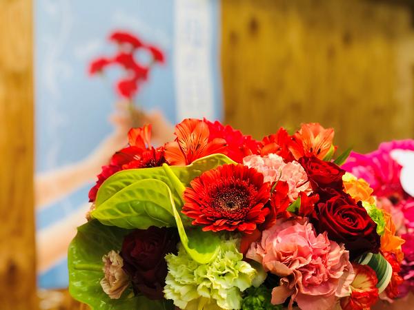 お花屋さんにとっては5月は大忙しなはずなんだけど…