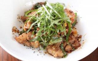 「豚肉の大葉焼き」特製タレが絡んだ豚バラに酒もご飯も進む