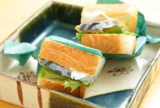 締めに食べたい「〆鯖サンドイッチ」 わさびバターで洋風に