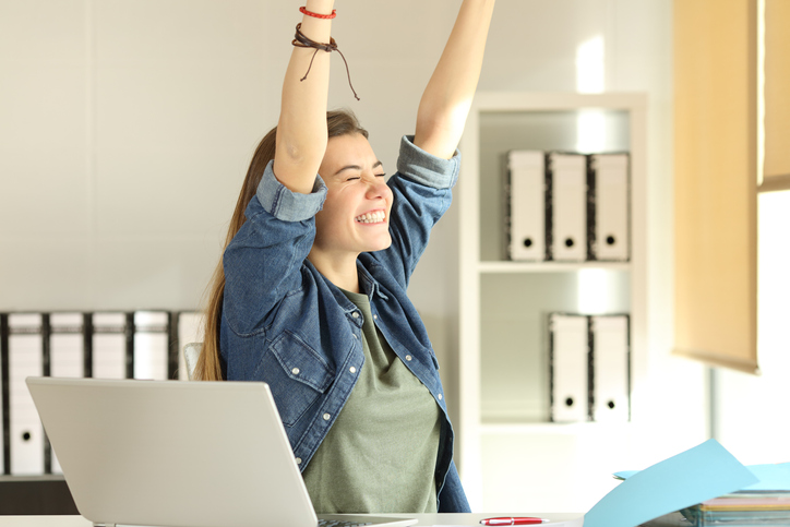 その成功体験が自信につながる(写真:iStock)