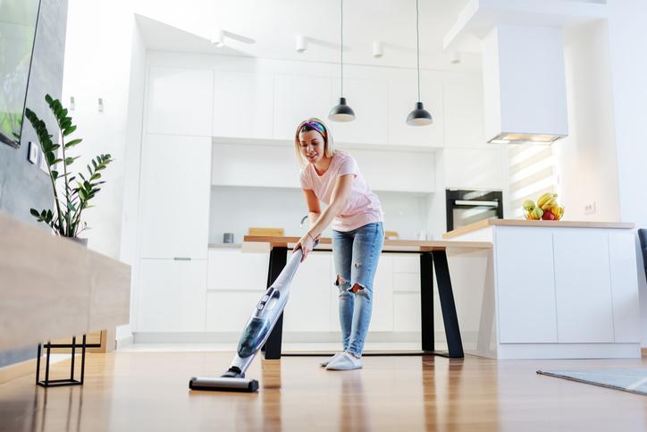 掃除が楽しい!(写真:iStock)