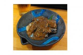 「イワシのうまみ焼き」味噌を加えてハラワタの苦味を堪能!