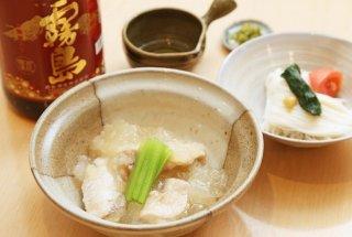 2度美味しい 「鳥と大根スープ煮」からの「冷麺風そうめん」