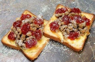 「筋子納豆ピザトースト」太宰が愛したテッパンの組み合わせ