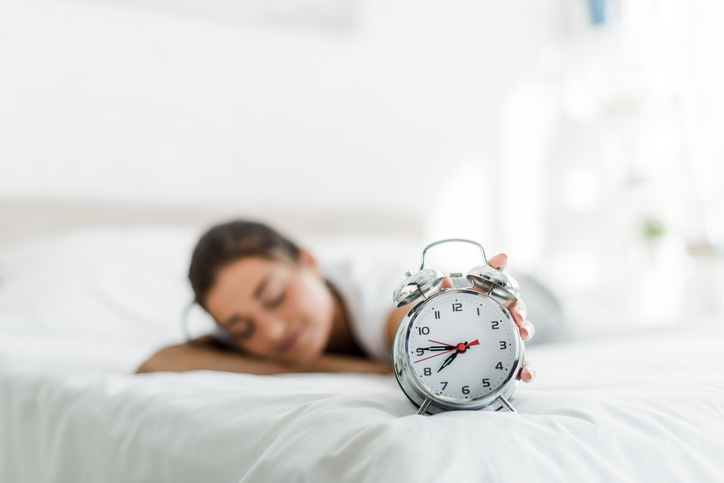睡眠時間ちゃんと確保できてる?(写真:iStock)
