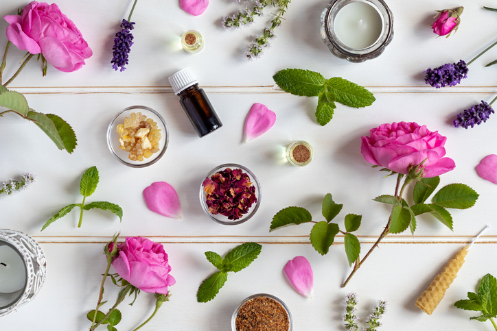 好みの香りを選べば気分も上がる♪(写真:iStock)