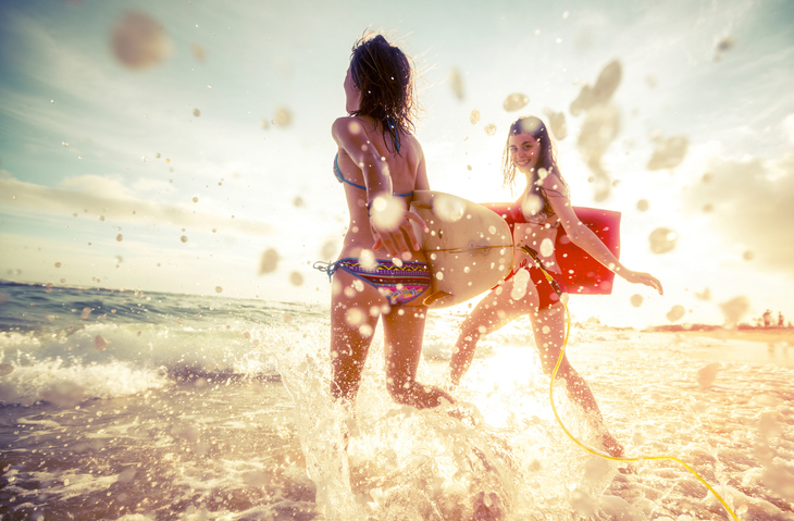 水着だって怖くない!(写真:iStock)