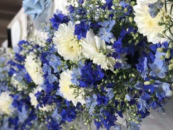 ブライダルシーンに欠かせない花 (写真 東花園)