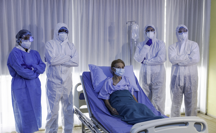 万が一コロナに感染したら…(写真:iStock)