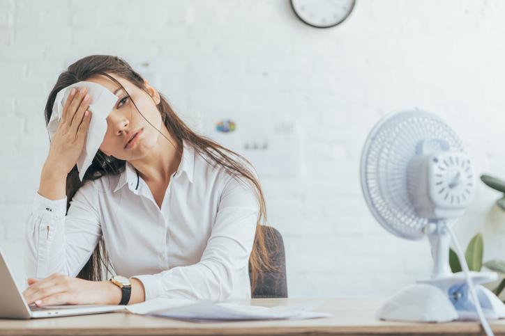 体調管理が大切な季節(写真:iStock)