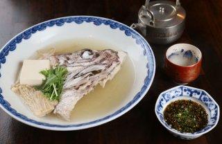 「真鯛のかしら酒蒸しポン酢」フライパンで5分の料亭の味