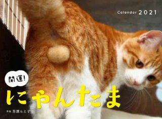 来年も猫と一緒に「2021にゃんたまカレンダー」で開運にゃ!
