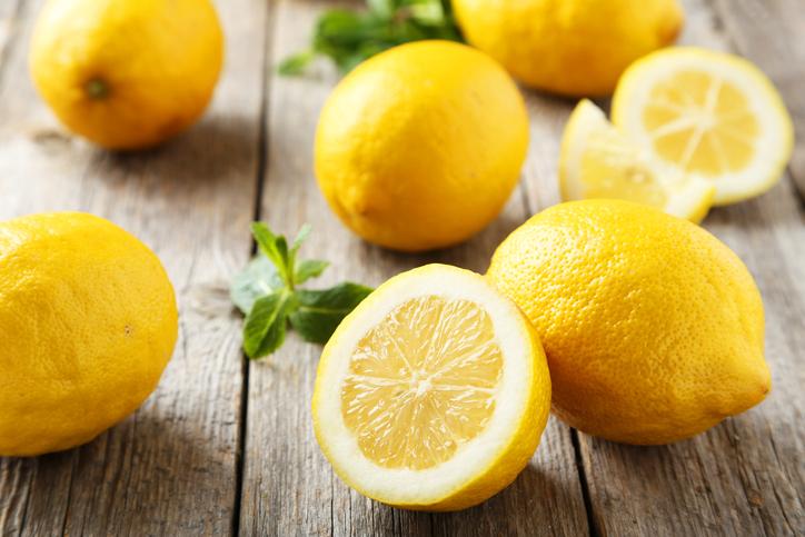 酸っぱいレモンが美肌をサポート♪(写真:iStock)