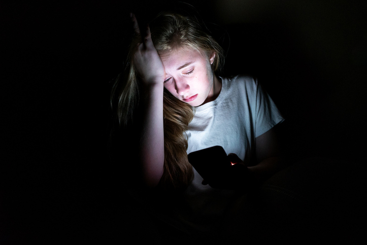 眠いのに…(写真:iStock)