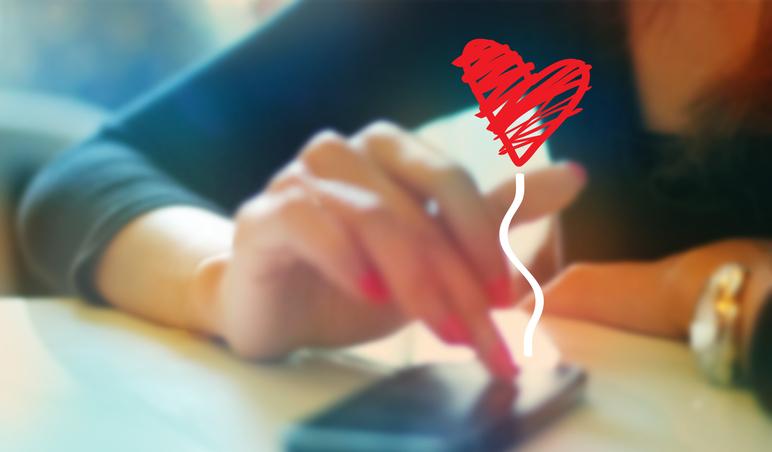 恋愛上手はスタンプ上手(写真:iStock)