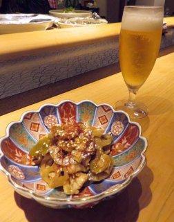 「ハスとザーサイ炒め」レンコンはおつまみ界の優等生食材