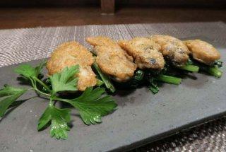 パン粉いらずで簡単「牡蠣のピカタ ブラックペッパー風味」