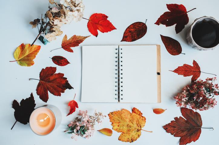 秋のカラーを取り入れて♡(写真:iStock)