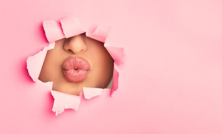 ぽってり唇は欠かせない♪(写真:iStock)