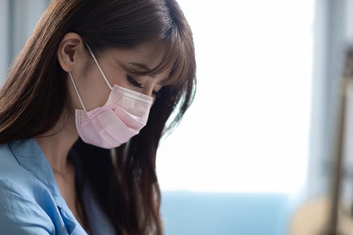 マスクでも可愛くみせたい♪(写真:iStock)