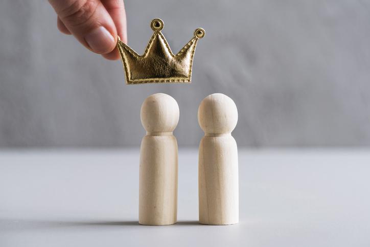いつだって王様気分?(写真:iStock)