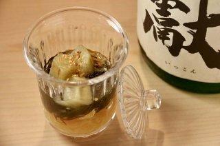 「糸ウリと焼きナスのひたし」2種類のダシで生まれる味わい