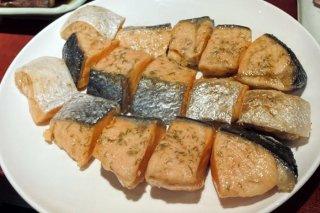 サイコロ鮭ステーキ 2020.11.5(木)