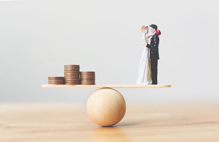お金の価値観が異なると互いに不幸(写真:iStock)