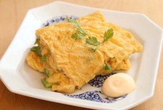ピリッ!と刺激的な大人の卵焼き「青唐辛子のオムレツ」