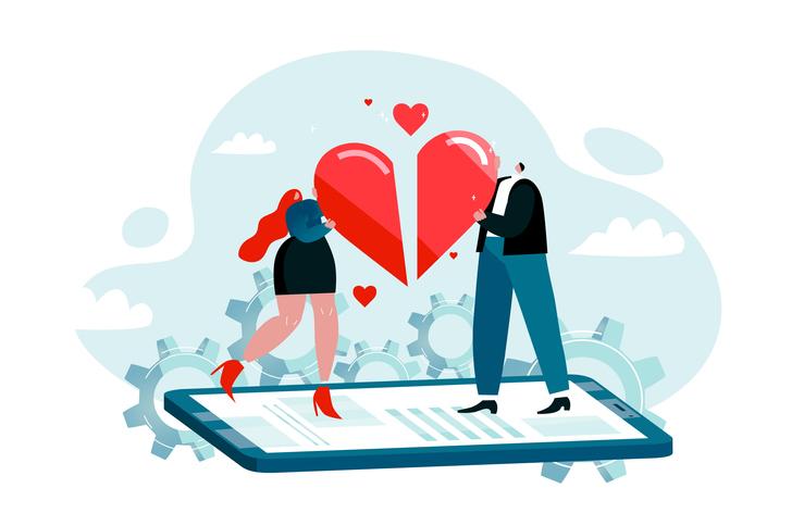 「新しい生活様式」でマッチングアプリが人気だけど…(写真:iStock)