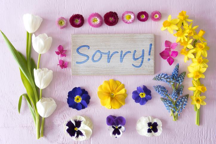 謝るのは勇気が要るけど(写真:iStock)