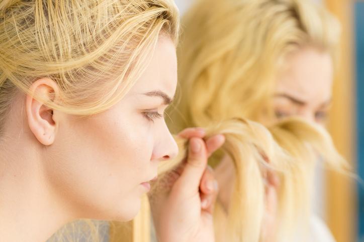 なんだか髪の毛に元気がない…(写真:iStock)