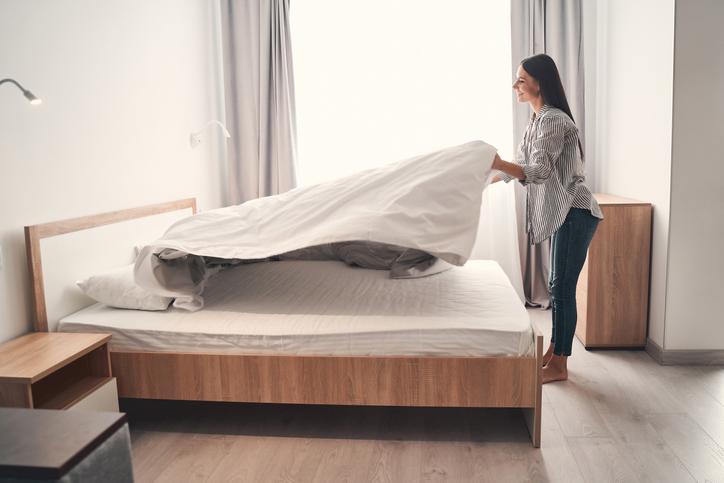 部屋はキチンときれいにが鉄則!(写真:iStock)