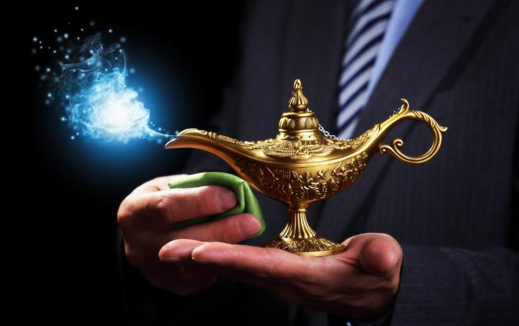 魔法のランプの精でもありません(写真:iStock)