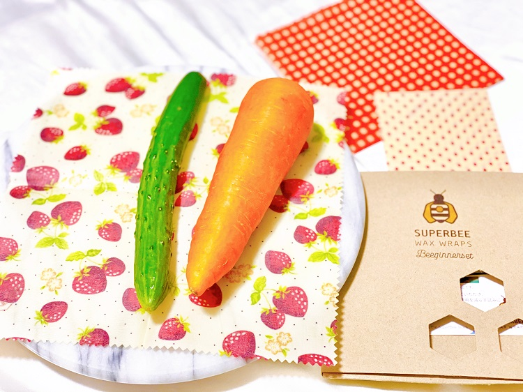 野菜を包むのにすごく便利!(写真:上村菜穂)