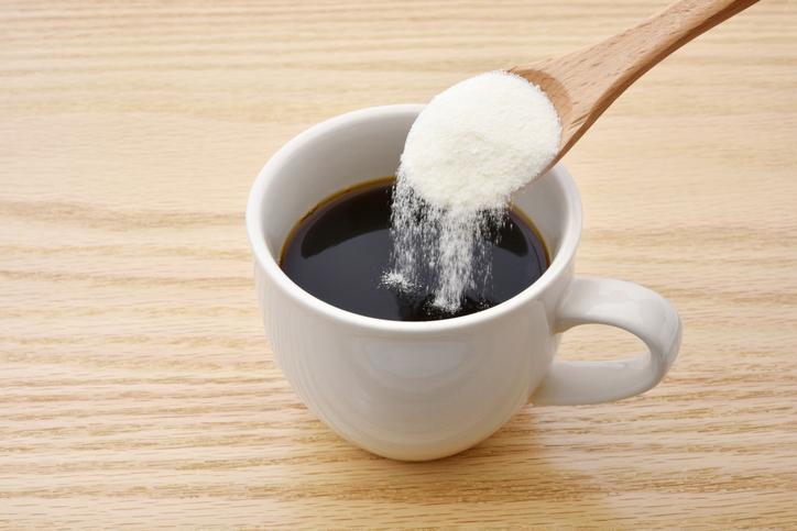 いつものコーヒーにコラーゲンをプラス(写真:iStock)