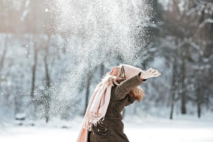 寒さに負けない肌に(写真:iStock)