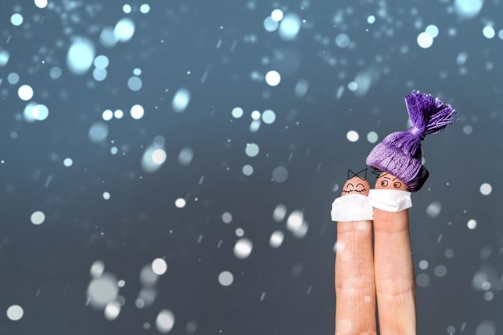 経験したことのない冬がやってきた(写真:iStock)