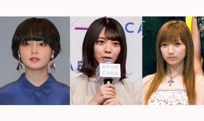 新たなスタートの平手さん(左)と櫻坂46(中央・森田さん)、20周年の後藤さん(右)、それぞれの感慨深イイ話とは…/「イオンカード20周年キャンペーン発表イベント」(中央)、(C)日刊ゲンダイ(左、右)