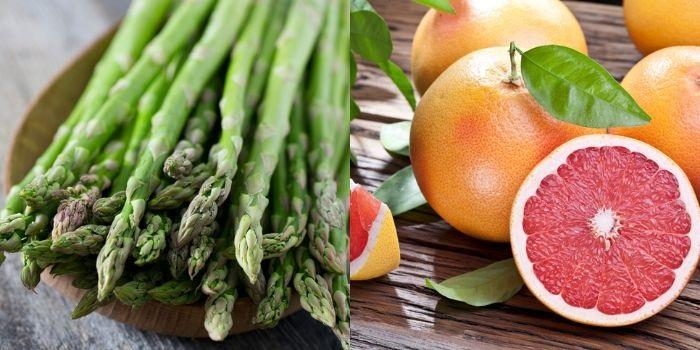 アスパラとグレープフルーツで免疫力アップ(写真:iStock)