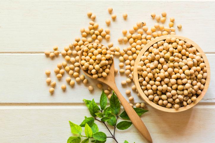 大豆は薄毛防止にも効果あり(写真:iStock)