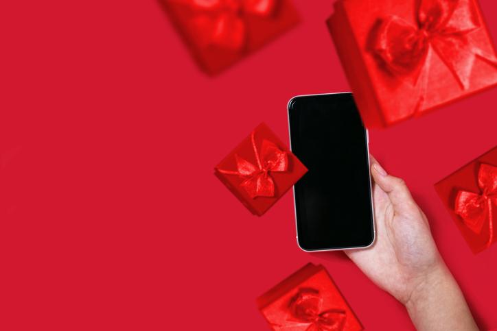 オンラインでプレゼントを贈ろう(写真:iStock)