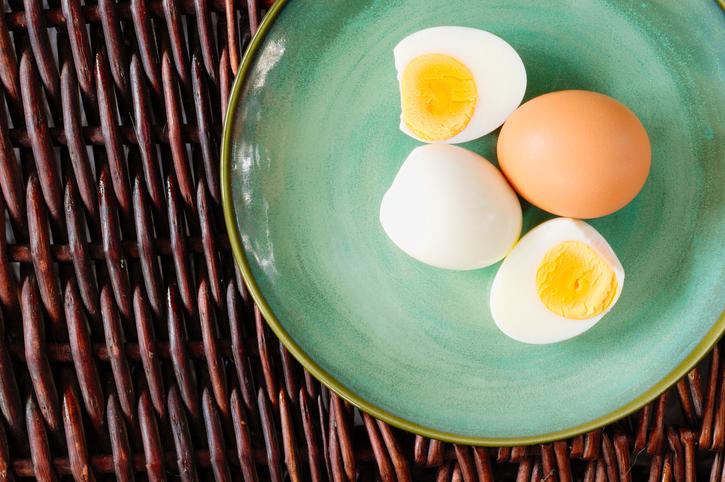 ゆで卵は腹もち抜群(写真:iStock)