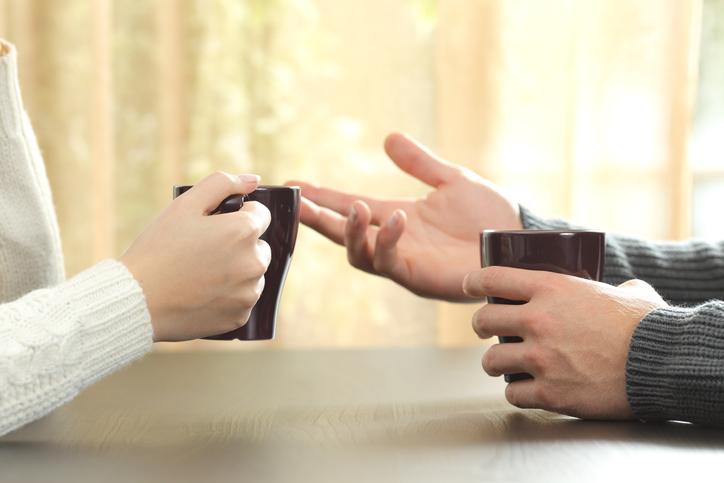 話を聞いてくれるパートナーが欲しかったんだ(写真:iStock)