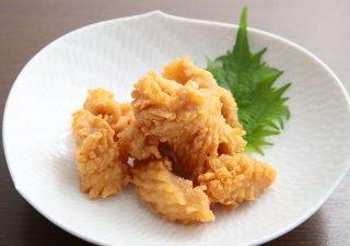 リピート率No.1「ミノ唐揚げ」 サクッと食感と独特の風味