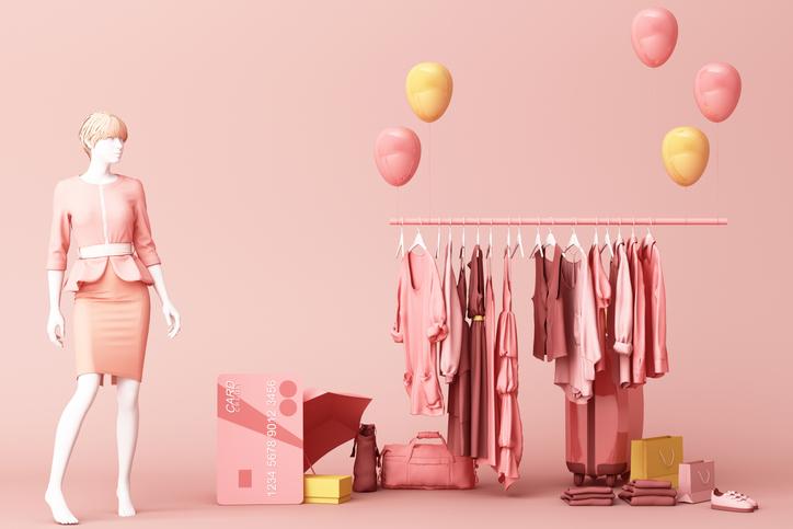 淡い色合いのファッションで女性らしさを(写真:iStock)