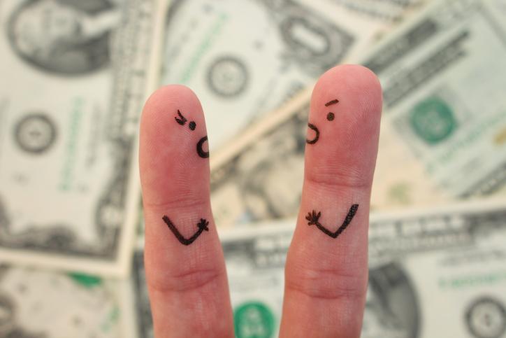 金銭面ですれ違うことも(写真:iStock)
