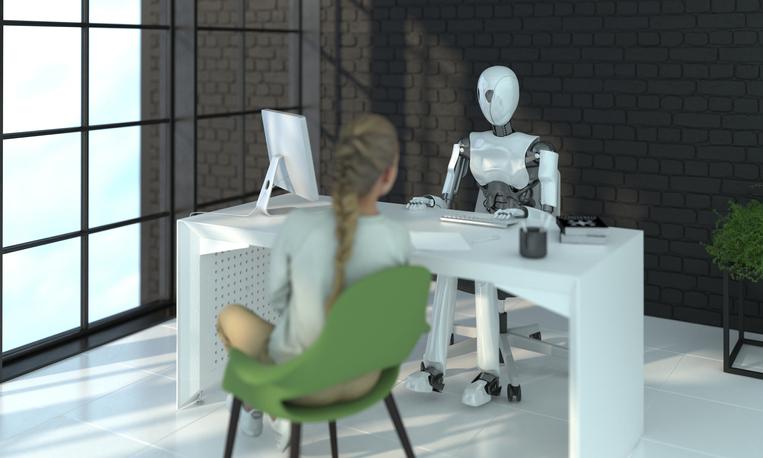 私の夫はロボット(写真:iStock)